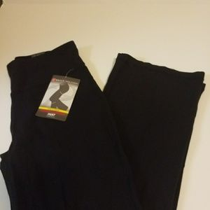 Bally Total Fitness control tummy pants